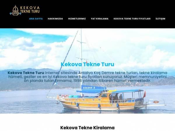 kekovademretekneturu.com