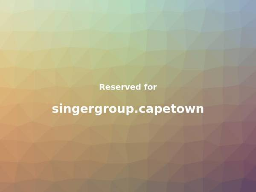 singergroup.capetown